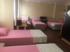 Yurt İstanbul Kız Öğrenci Yurdu 6 Kişilik Oda