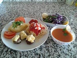 Çetinkaya Kız Öğrenci Yurdu - Yemeklerimiz
