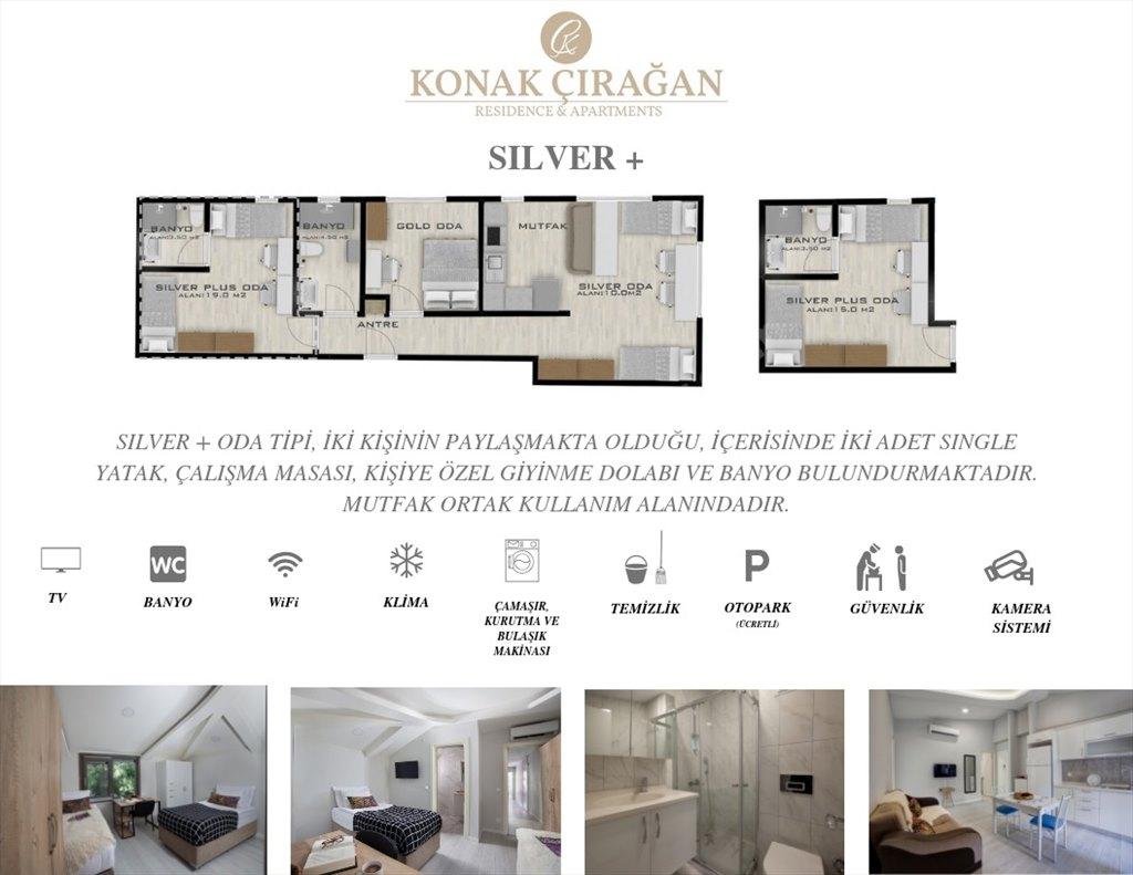 Konak Çırağan Residence - Silver Plus