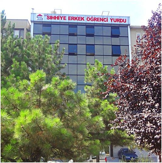 Ankara Sıhhıye Erkek Yurdu