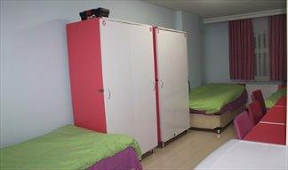 Kocaeli - İzmit, İCK Hüsniye Cankan Kız Öğrenci Yurdu - 2 Kişilik Oda - Geniş