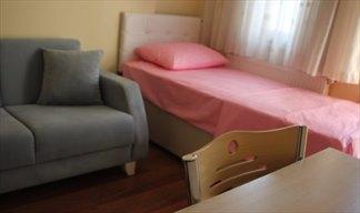 İstanbul - Fatih, Yurt İstanbul Kız Öğrenci Yurdu - 1 Kişilik Oda - Banyo - WC