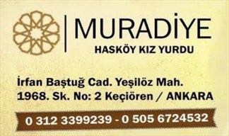 Özel Muradiye Hasköy Kız Öğrenci Yurdu