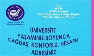 ÇYDD Ankara Özel Kilisli Öğretmen Lütfiye Kışlalı