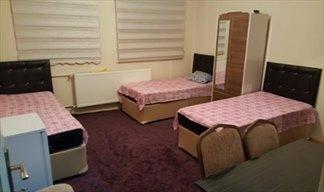 Erzurum Bersu Bayan Öğrenci Evi - 3 Kişilik Oda