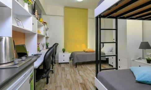 İzmir - Urla, Üniyurt İYTE Kız Öğrenci Yurdu - 3 Kişilik Oda
