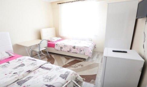 Tokat - Merkez, Tokat Aydınoğlu Kız Öğrenci Pansiyonu - 2 Kişilik Oda