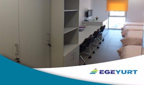İzmir - Bornova, EGEYURT - ERKEK - 4 Kişilik Oda