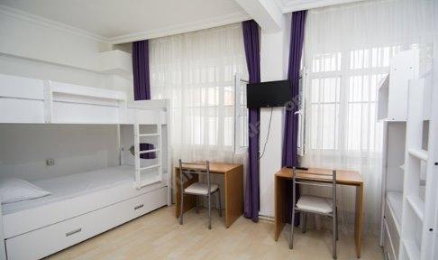 İstanbul - Fatih, Academic House Çapa Kız Öğrenci Yurdu - 4 Kişilik Oda