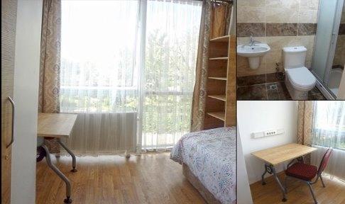 Ankara Sıhhıye Erkek Yurdu - 1 Kişilik Oda