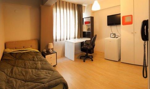 İzmir - Buca, MyVia Buca Genç Yaşam Merkezi - 1 Kişilik Oda
