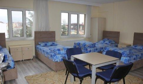 Burdur - Merkez, TDV Burdur Yükseköğretim Erkek Öğrenci Yurdu - 4 Kişilik Oda