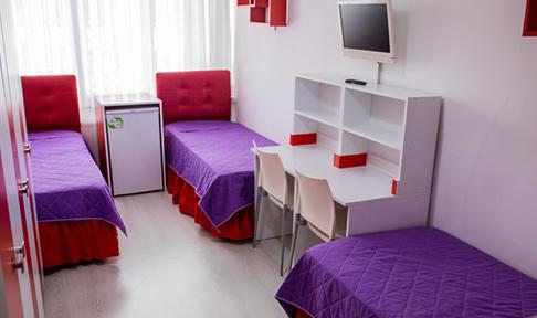 Özel Alkın Emek Kız Öğrenci Yurdu - 3 Kişilik Oda