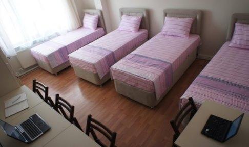 Ankara - Çankaya, Çınar Kız Yurdu - 4 Kişilik Oda