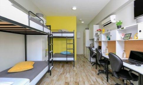 İzmir - Urla, Üniyurt İYTE Erkek Öğrenci Yurdu - 3 Kişilik Oda