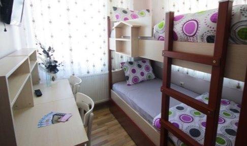 Sakarya - Serdivan, Adatoria Kız Öğrenci Yurdu - 2 Kişilik Oda - Ranzalı