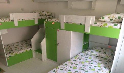Kocaeli - İzmit, Umuttepe Kız Öğrenci Yurdu - 4 Kişilik Oda
