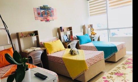 İstanbul - Avcılar, Özel Has Yüksek Öğrenim Kız Öğrenci Yurdu - 2 Kişilik Oda