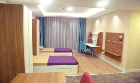 İzmir - Bornova, Atahan Residence Kız Öğrenci Yurdu - 2 Kişilik Oda - 1+1 DAIRE