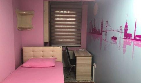 İstanbul - Fatih, Yurt İstanbul Kız Öğrenci Yurdu - 1 Kişilik Oda - Standart