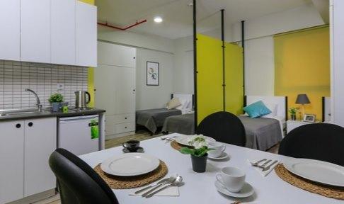 İzmir - Urla, Üniyurt İYTE Erkek Öğrenci Yurdu - 4 Kişilik Oda