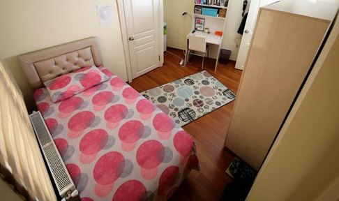 İstanbul - Maltepe, Turkuaz Öğrenci Yurtları Maltepe Kız Şubesi - 1 Kişilik Oda