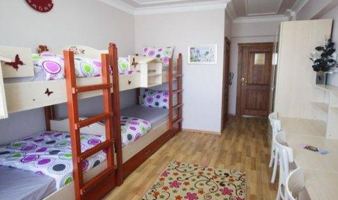 Sakarya - Serdivan, Adatoria Kız Öğrenci Yurdu - 4 Kişilik Oda