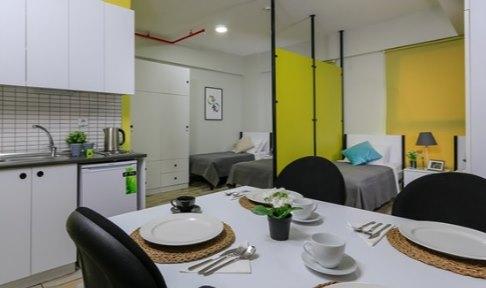 İzmir - Urla, Üniyurt İYTE Kız Öğrenci Yurdu - 4 Kişilik Oda